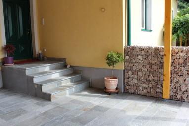 Stufenplatten Alpengneis