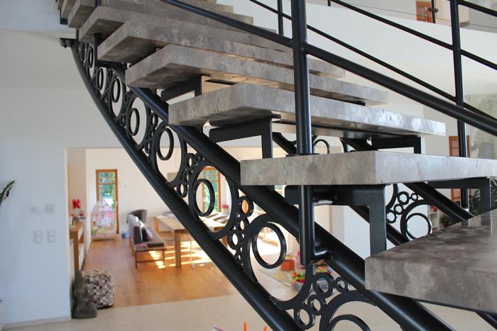 Stufenplatten aus Dolomit